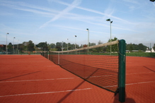 Clay tennis courts at St George's College