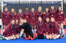 Under 14 girls' hockey squad reach final at Nationals