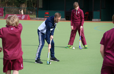 Hockey players learn from the best in Olympic masterclass