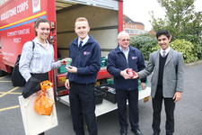 Hundreds of food tins collected for  Salvation Army's 'Tin-A-Week' campaign