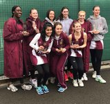 1st VII netball team rewrites history to win Surrey Schools' Netball Championships