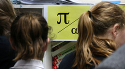 Students have infinite fun celebrating 'International Pi Day'