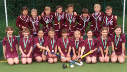 Hockey success for both Under 9 boys and girls