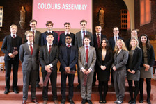 Easter Term Colours awarded