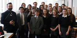 Georgians of the week for Prefect team plus 'Dracula' cast and crew