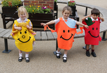 The votes are in as Nursery children hold Mr Men election