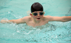 Records splashed at Junior School swimming galas