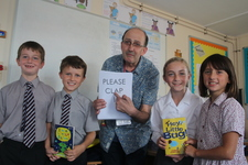 Poet visits for National Poetry Day at the Junior School