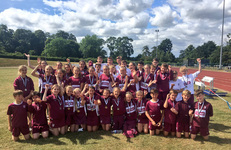 Junior School and College children come together to compete at National Catholic Athletics Championships