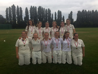 Girls' Under 15 XI cricketers crowned Surrey County Cup Champions for third consecutive year