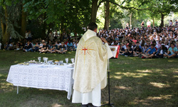 End of year service wonderfully celebrated in 'The Shady Glade'