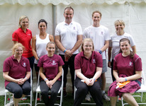 St George's Staff try their hand at rowing in Weybridge Community Regatta
