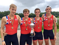 Lower Sixth student wins gold medals on international rowing debut