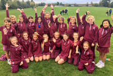 Individual and team success as Junior School girls run to victory at Cross Country