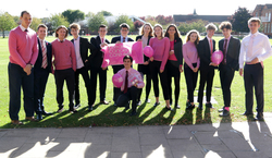 Sixth Form In the Pink: students go pink to raise money for breast cancer care