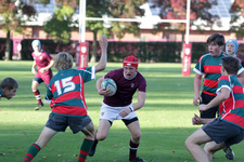 St George's hosts rugby team from Josephite School, Melle College, Belgium
