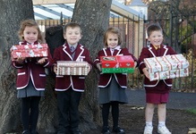 Junior School shows Georgian spirit with Operation Christmas Child Shoebox Appeal