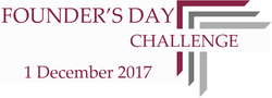 FOUNDER'S DAY CHALLENGE - 1 DECEMBER 2017