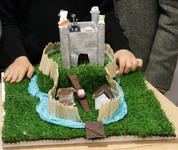 First Year Historians create 'Swiss Roll Towers' and chocolate model castles