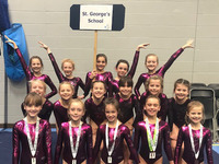 Gymnasts jump for joy with success at IAPS National Championships