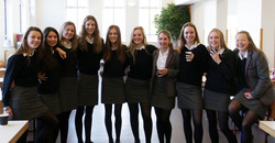 U16 Girls' National Indoor hockey silver medalists named Georgians of the Week