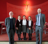 St George's delivers noteworthy speeches at Catenian Public Speaking Competition