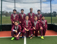 U10 boys' hockey team crowned champions at Surrey Tournament