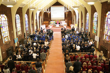 Upper Sixth celebrate RE in local schools with special Mass