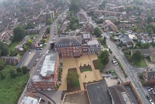 See a video of St George's Junior School, Weybridge from the air taken in mid-September 2014