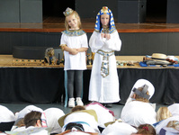Mummies awakened and artefacts identified on Year 3 Egyptian Day