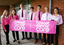 Sixth Form In the Pink: students go all out to raise money for breast cancer care