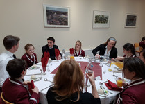 Scholars' Lunch celebrated at the College