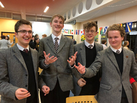 Fifth Years take part in prestigious Oxford Schools' Debating competition