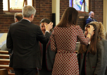 Lent begins at St George's College