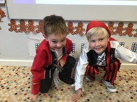 Reception children live like pirates for a day