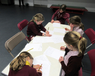 Local schools join Year 2 for a special Able Learners' workshop