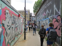 First Year Geographers travel to East London for important fieldwork