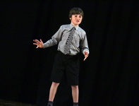 Year 6 pupils take to the stage at inaugural Inter-House Drama competition