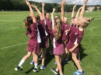 U11 girls enjoy huge success at Rounders National Finals