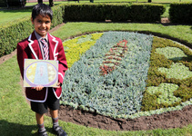 Pupil's Weybridge in Bloom winning design unveiled