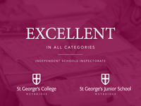 EXCELLENT in all categories for Junior School and College - Independent Schools Inspectorate