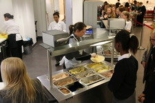 New Deli Bar option at lunch time proves very popular