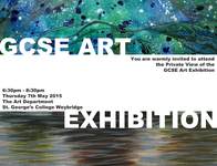 ​GCSE art exhibition – come and enjoy our students' work