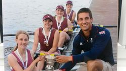 Male and female rowers celebrate major success at Nationals