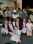 Maroon, white and green: Year 3 pupils learn about recycling