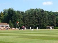 A beautiful day to welcome the MCC to play the College 1st XI