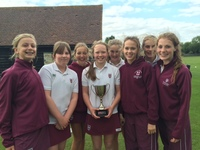 Girls triumph at Inter-Cricket Competition