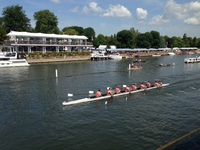 College defeats Yarm School at Henley Royal Regatta
