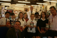 Author William Hussey visits the College