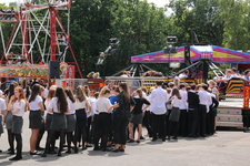 ​End of year service celebrates and gives thanks - finishing off with a funfair